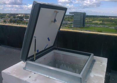 Išlipimo liukas ant stogo EI30